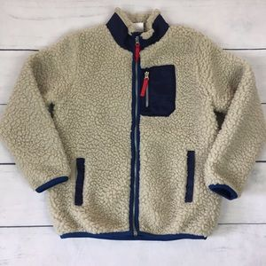 Hanna Andersson Chill Chaser Sherpa Kids Jacket
